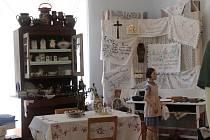 Výstavy v muzeu a na zámku v Chudenicích.