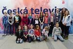 Děti z Klatov zavítaly do České televize.