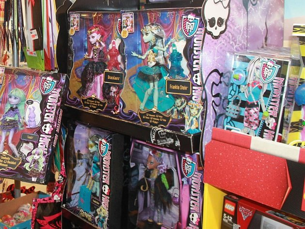 Hitem Vánoc budou Monster High. Ilustrační foto