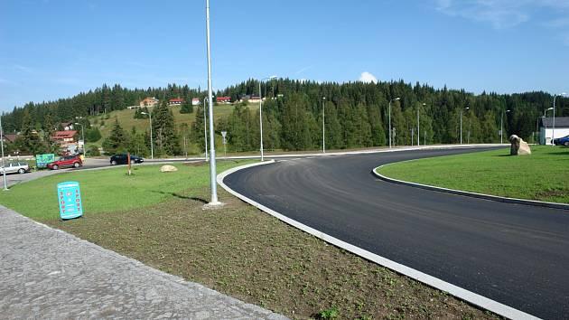 Silnice v Národním parku Šumava mezi Srním, Antýglem a Modravou obdržela Cenu Ministerstva dopravy ČR