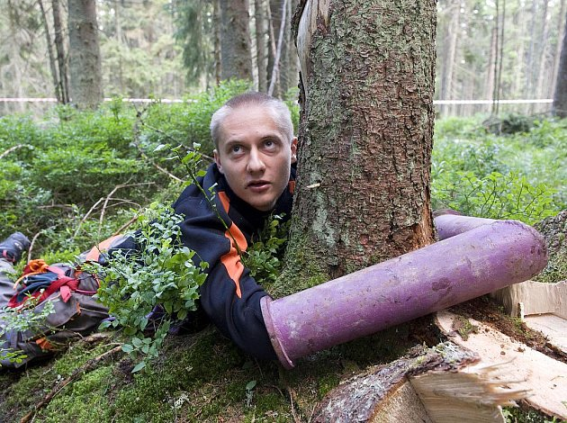 Ekologičtí aktivisté i ve čtvrtek pokračovali na Šumavě v blokádě.