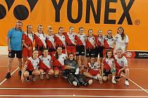 Klatovský tým dívek do 16 let.