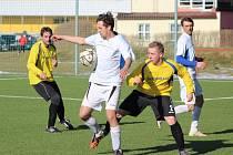 Příprava na fotbalové jaro 2017: TJ Sušice (bílé dresy) - TJ Sokol Mochtín 4:0