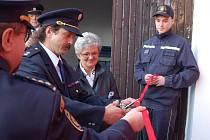 Otevření hasičské zbrojnice v Kašperských Horách