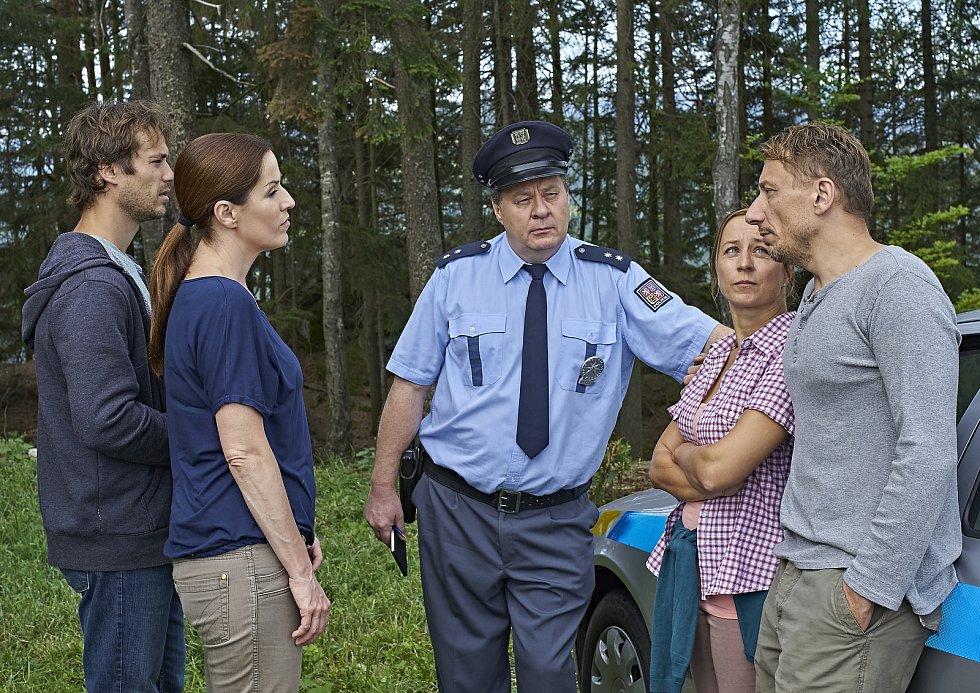 Policie Modrava - natáčení druhé řady.