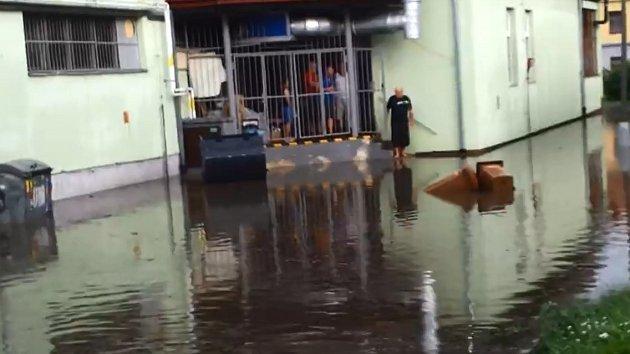 Pondělní bouřky a krupobití na Klatovsku