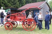 Oslavy 115. výročí hasičů ve Zborovech.