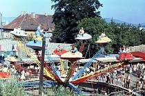 Pouť v Klatovech v roce 1983.