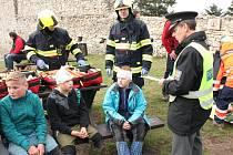 Cvičení integrovaného záchranného systému na Kašperku