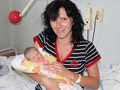 Mia Pěkný z Mlýnského Struhadla se narodila v klatovské porodnici 5. července v 5.44 hodin. Vážila 2750 gramů a měřila 47 cm. Rodiče Petra a Miroslav přivítali očekávanou dceru na porodním sále společně. Doma na sestřičku čeká Nicolas (15 měsíců).