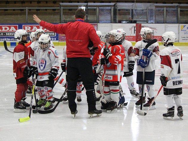 Náborová akce HC Klatovy a ČSLH Týden hokeje - září 2017