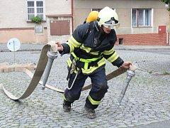 Železný hasič ve Strážově 2017