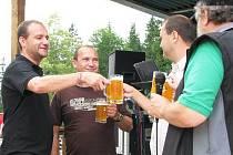 Oslavy 3. výročí pivovaru Belveder
