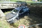 Dopravní nehoda u Divišova.
