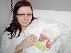 Daniel Kurc z Klatov se narodil v klatovské porodnici 3. května v 0.35 hodin. Vážil 2940 gramů a měřil 51 cm. Rodiče Kateřina a Miroslav přivítali očekávaného synka na svět společně na porodním sále.