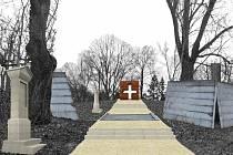 Návrh křesťanského vrchu a křížové cesty.