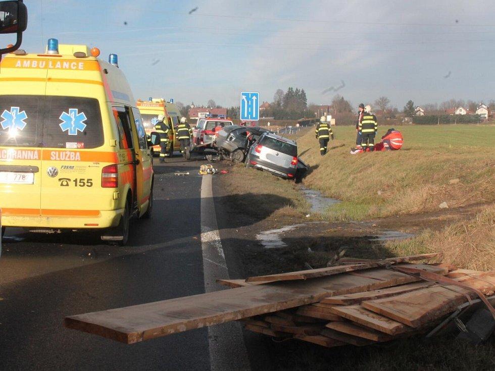 Tragická nehoda u Štěpánovic