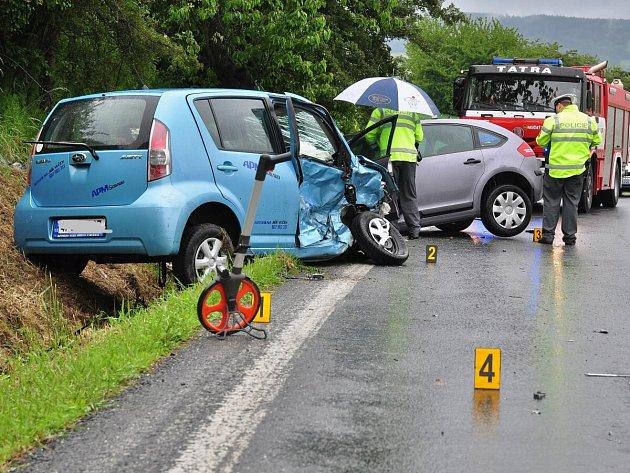 Dopravní nehoda u Sušice