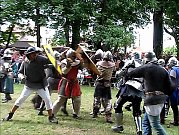 Bitva rytířů na žichovických slavnostech