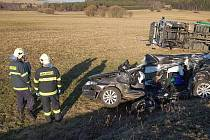 Nehodu na Bukováku nepřežil ani jeden z řidičů
