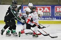 Hokej, liga mladších žáků: HC Klatovy - HC Příbram 2:12