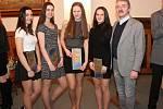 Ocenění mladých sportovců na klatovské radnici 2018