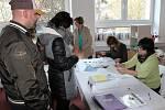 První den 2. kola prezidentských voleb na Klatovsku