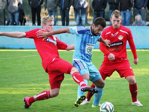 SK Klatovy 1898 (červené dresy) - FK Mladá Boleslav