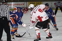 Liga juniorů: HC Klatovy (bílé dresy) – HC Litoměřice