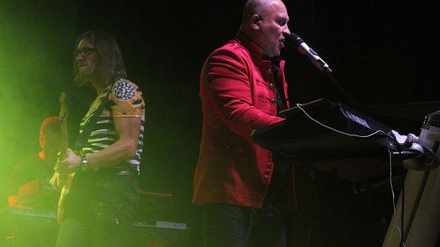 Koncert Michala Davida v Klatovech.
