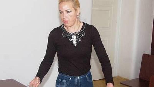 Markéta Šubová u klatovského soudu