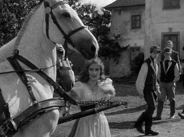 Film Divá Bára se natáčel v obci Hůrka na Šumavě