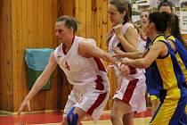 2. liga 2016/2017: BK Klatovy (bílé dresy) - BK Sluneta Ústí nad Labem 40:79