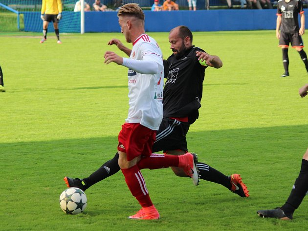 Divize 2017/2018: Klatovy (bílé dresy) - Petřín Plzeň 4:2