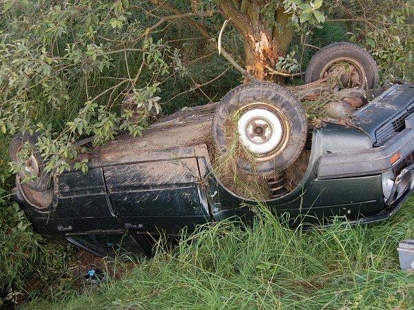 Dopravní nehoda u Petrovic