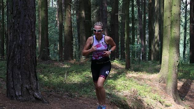 Ve druhém závodě seriálu virtuálních běhů do vrchu skončila Hana Hanzlíková (na snímku) opět druhá a před závěrečnou akcí ztrácí na první Vendulu Haladovou čtyři body.
