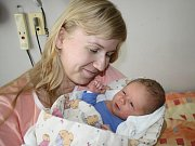 Lukáš Kindelmann z Klatov (3450 gramů, 50 cm) se narodil v klatovské porodnici 23. května ve 4.50 hodin. Rodiče Lenka a Pavel přivítali svého očekávaného prvorozeného synka na svět společně.