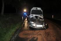 Nehoda tří aut mezi Sušicí a Hrádkem
