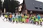 Sjezdařská sezona skončila také nejmladším lyžařům. Ale byla úspěšná.