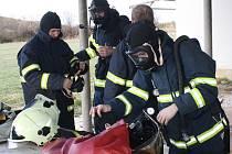 Cvičení jednotek požární ochrany SDH Horažďovicka