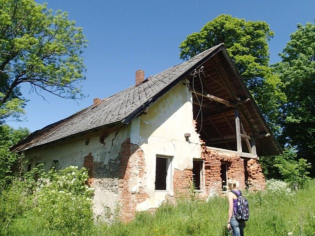 Samota Pohádka, kde několik let žil vrah Ivan Roubal.