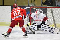 2. liga 2017/2018: Klatovy (bílé dresy) - Pelhřimov 6:5