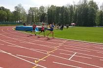 Klatovští atleti zahájili soutěže družstev.