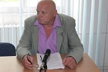 Miroslav Matoušek u klatovského soudu