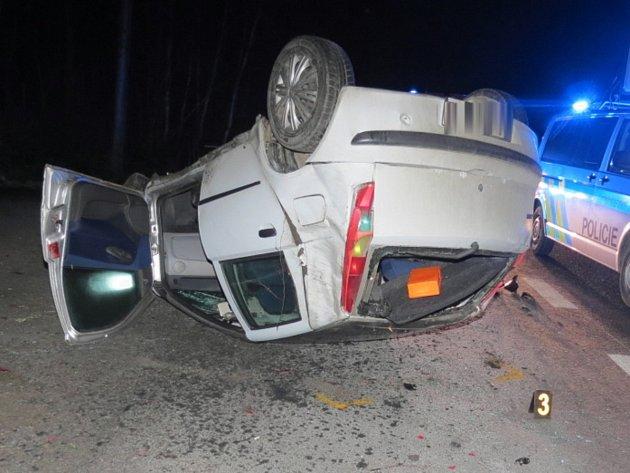 Nehoda u Bystré.