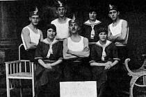 Správní výbor Orla v Klatovech v roce 1938