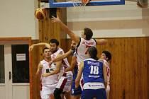 2. liga 2016/2017: BK Klatovy (bílé dresy) - Basketbal Jiskra Domažlice 76:61