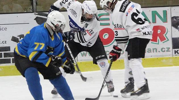Hokej, liga staršího dorostu: Klatovy - Černošice