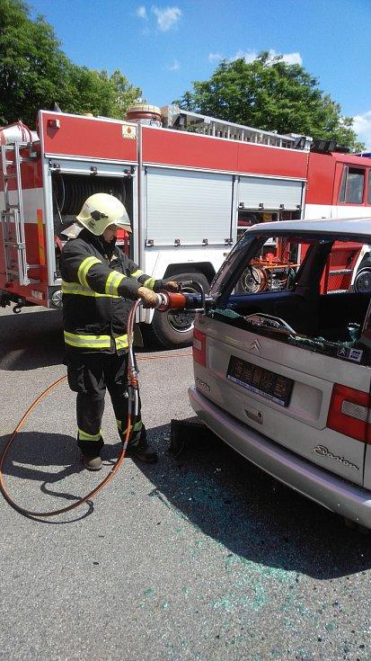 Oslavy hasičů v Horažďovicích.