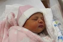 Gabriela Hošťálková zNýrska se narodila vklatovské porodnici 22. srpna v8:24 mamince Markétě a tatínkovi Václavovi. Rodiče dopředu věděli, že jejich druhorozeným miminkem (2500 g, 47 cm) bude holčička. Doma se na sestřičku těšil tříletý Vašík.